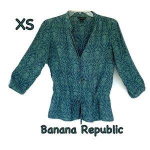 Women's Banana Republic small blouse